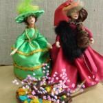 мои куклы из пластика.