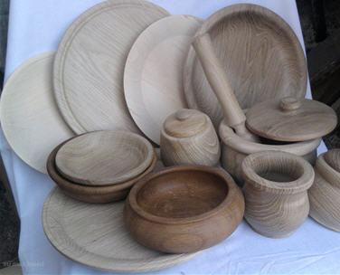 изготовление деревянной посуды