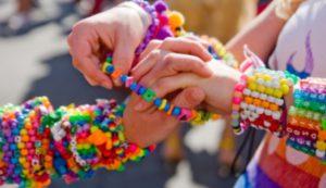 Бизнес детям.Плетение браслетов дружбы