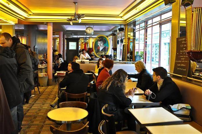 Кафе «Caf? des deux Moulins», Париж